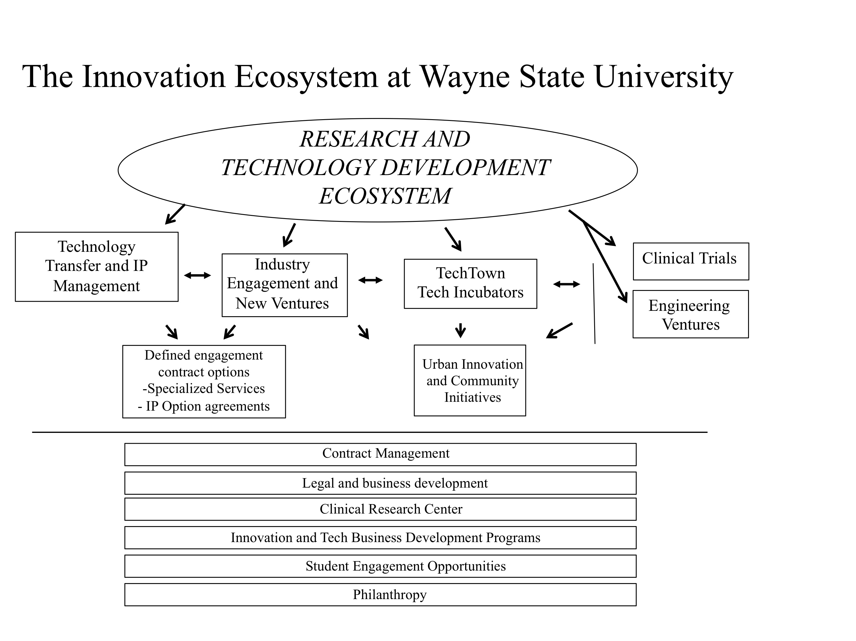 Innovation Ecosystem at Wayne State University